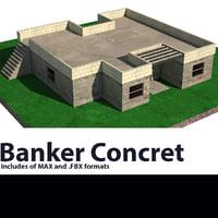 concret 3D model