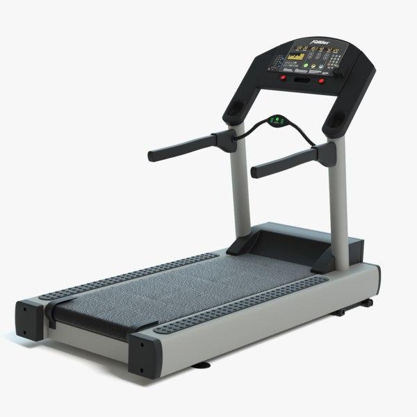 3D model treadmill pbr