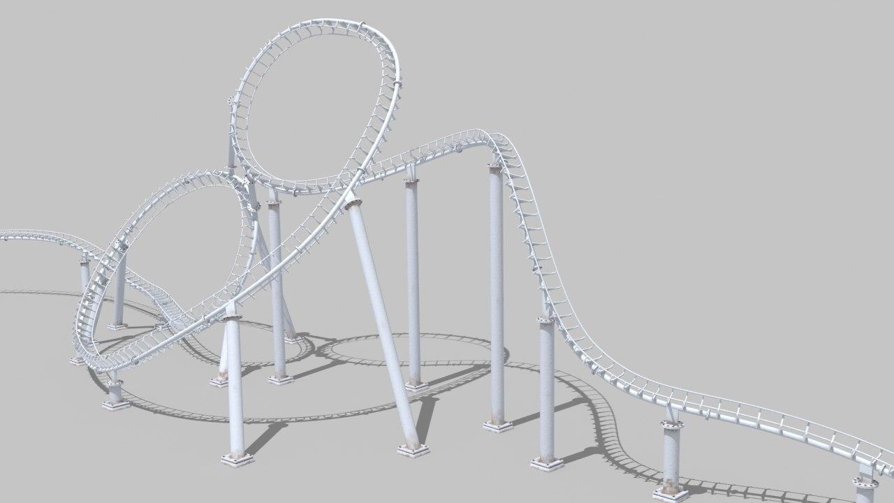 3D roller coaster rollercoaster