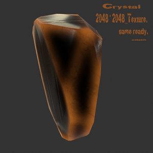 crystal 3D model