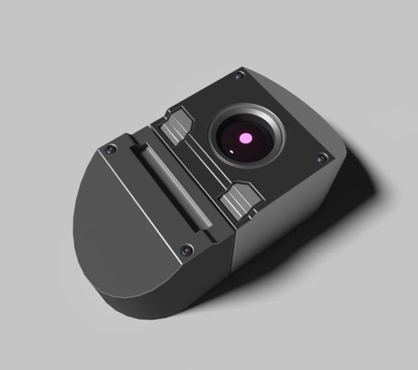 3D model camera candid