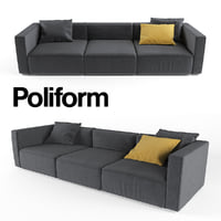 sofa Poliform Shanhai