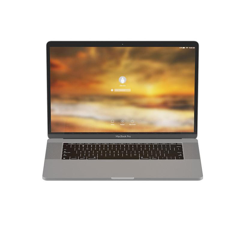 3D macbook pro 15 4