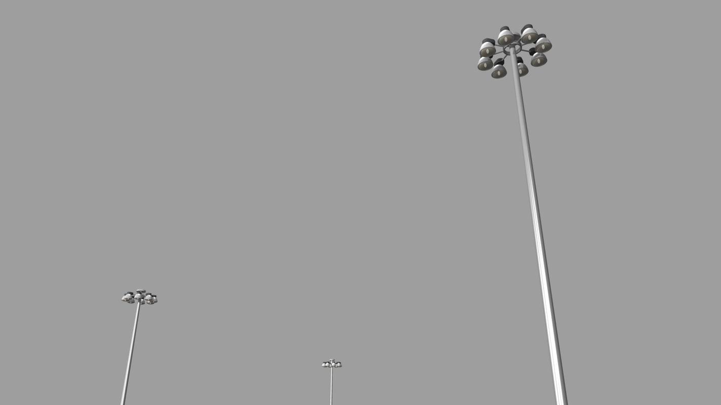 3D mast light highways