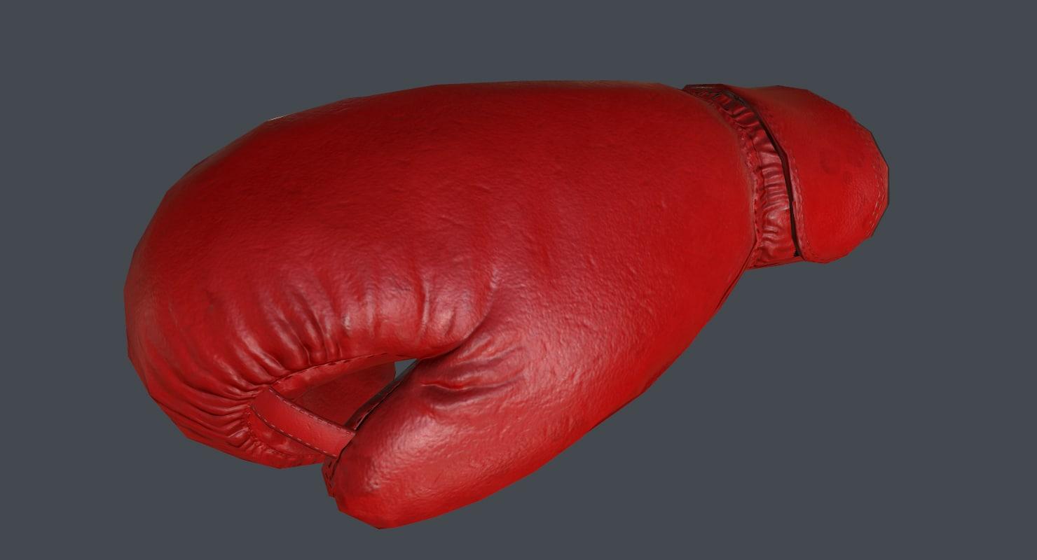 boxing glove model