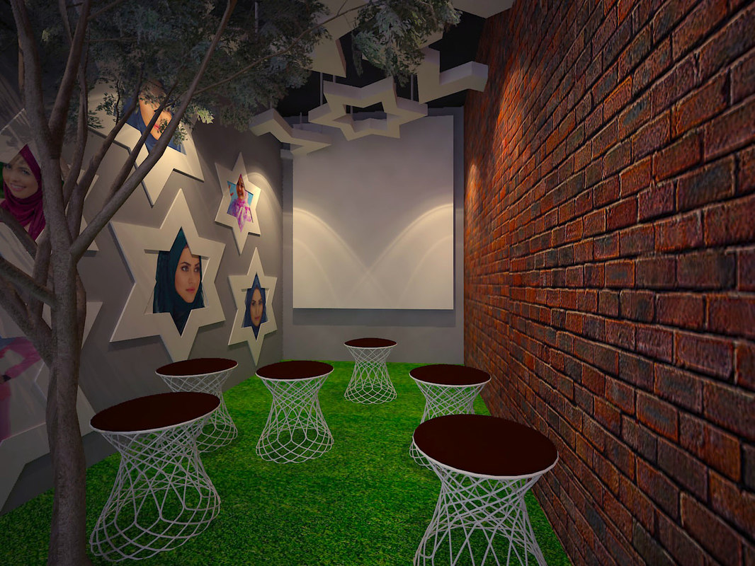 discussion room 3D model