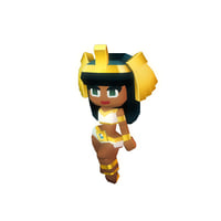 3D queen cleo model