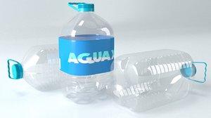 3D bottle 5l plastic
