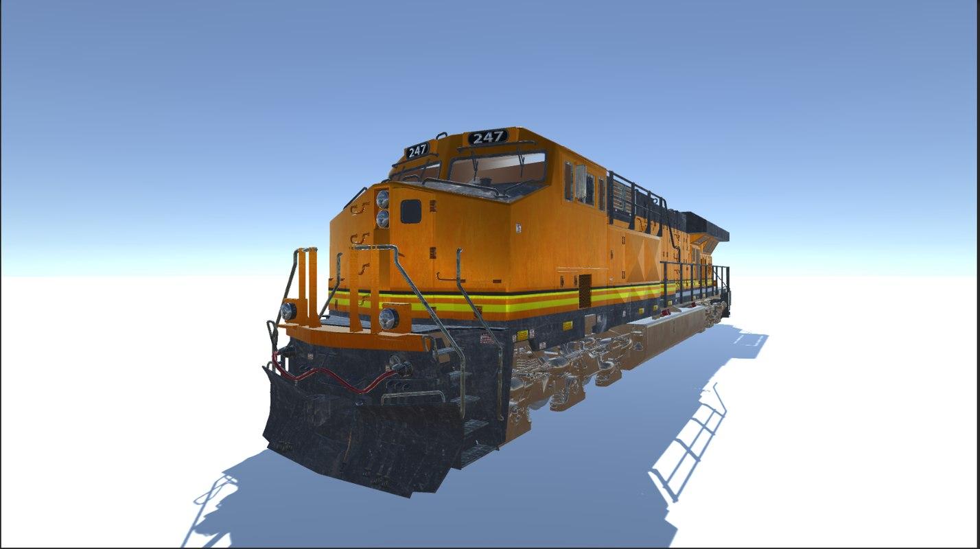 electric train model