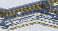 trestle builder 3D model