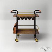 3D stella works valet bar
