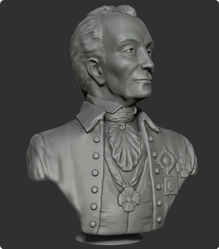 bust suvorov 3D model