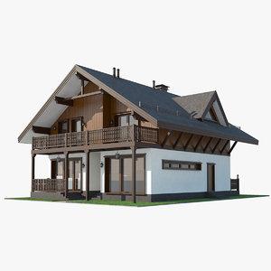 shale house 3D model