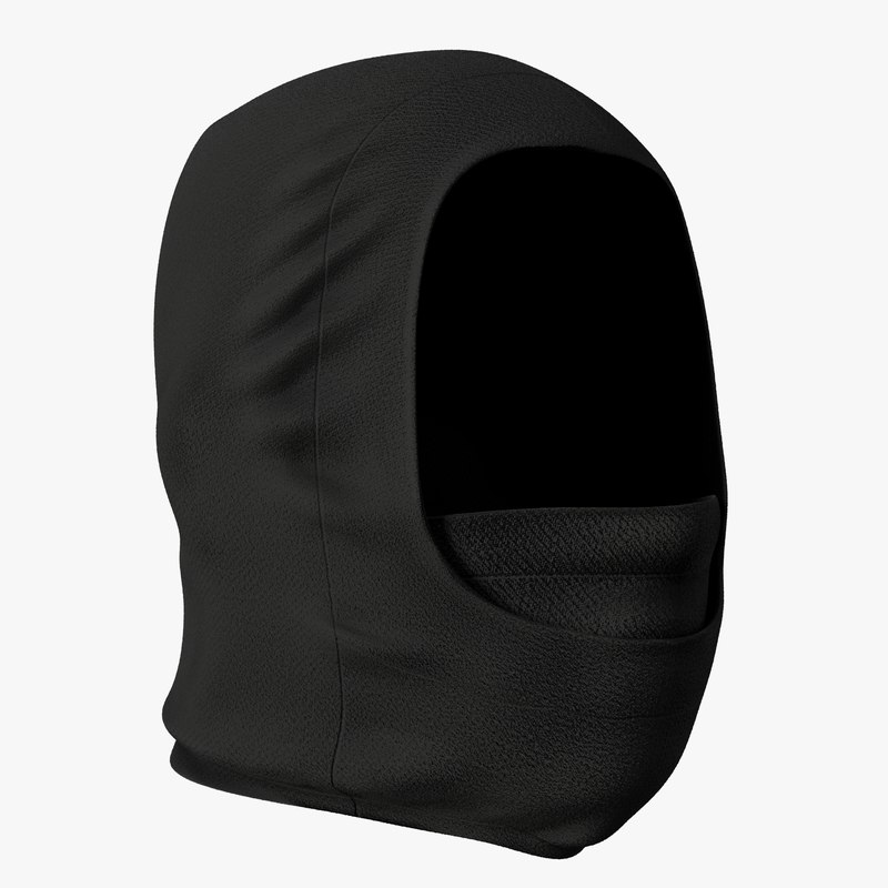 realistic balaclava mask model