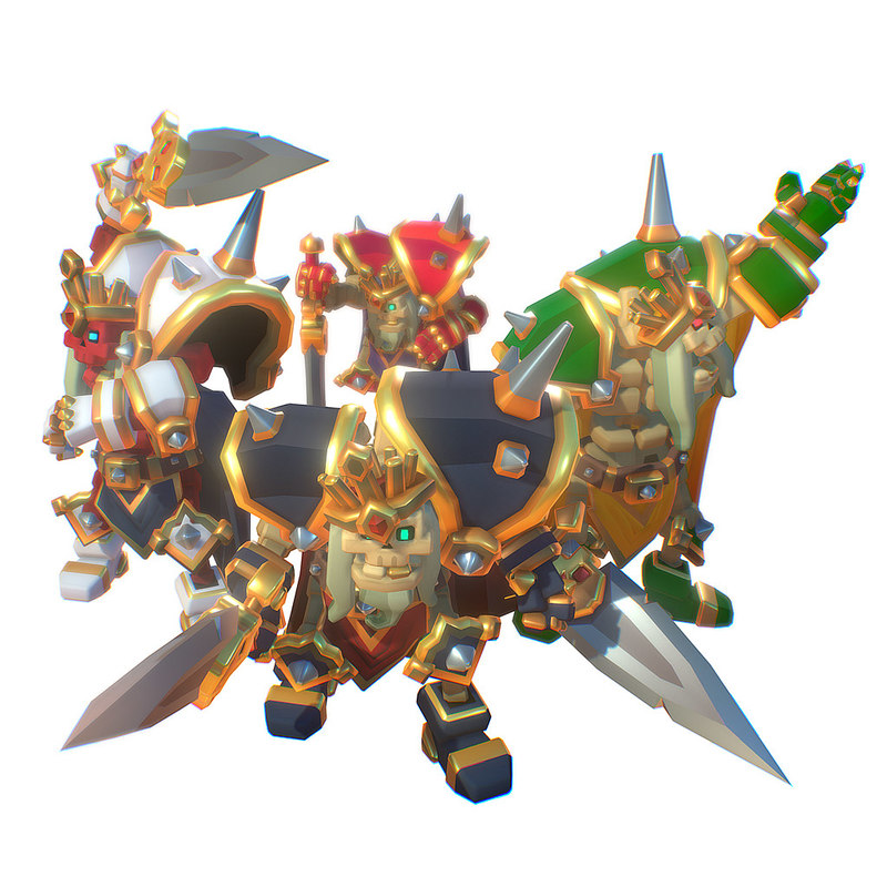skeleton king 3D