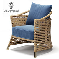 3D visionnaire coney island chair model