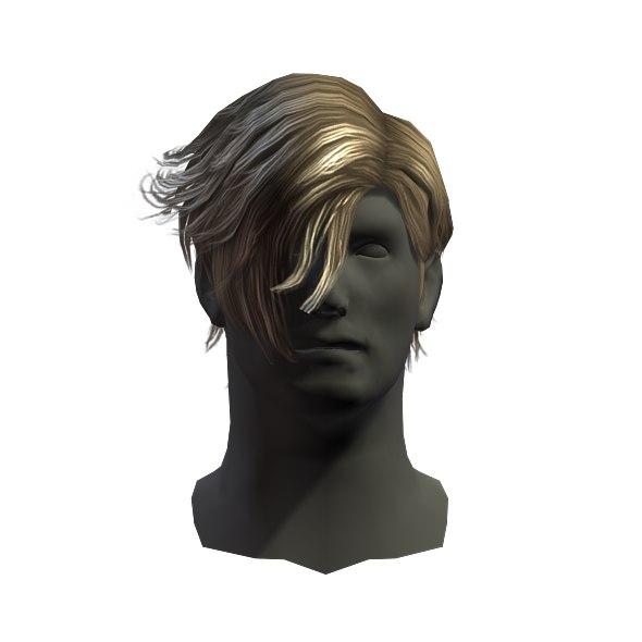 hair man 3D
