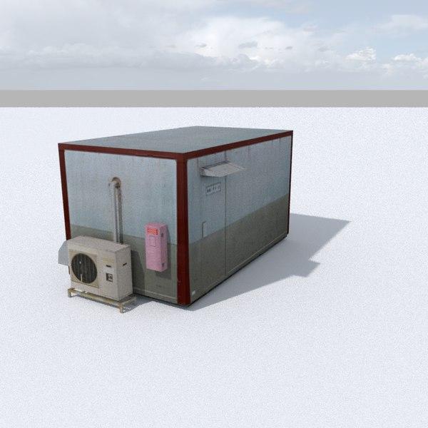 cabin games 3D model