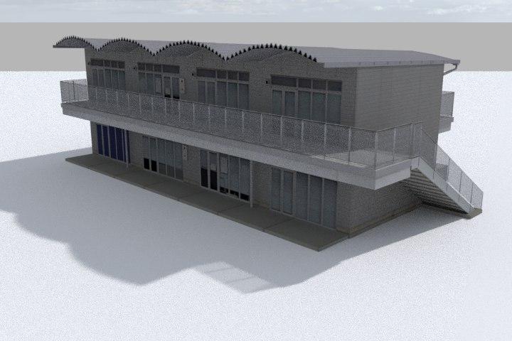 3D model racing track service