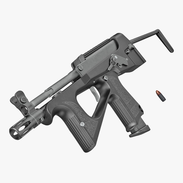 machine pistol pp-2000 smg 3D model