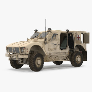 3D oshkosh m-atv medical vehicle