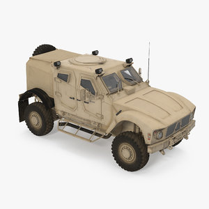oshkosh m-atv protected military vehicle 3D
