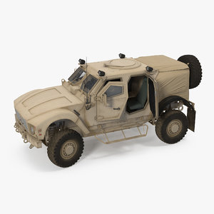 3D model oshkosh m-atv protected military vehicle