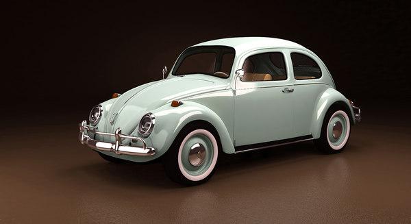 beetle classic 3D model