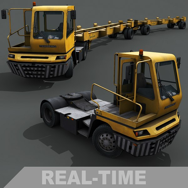 yard tractor 3D