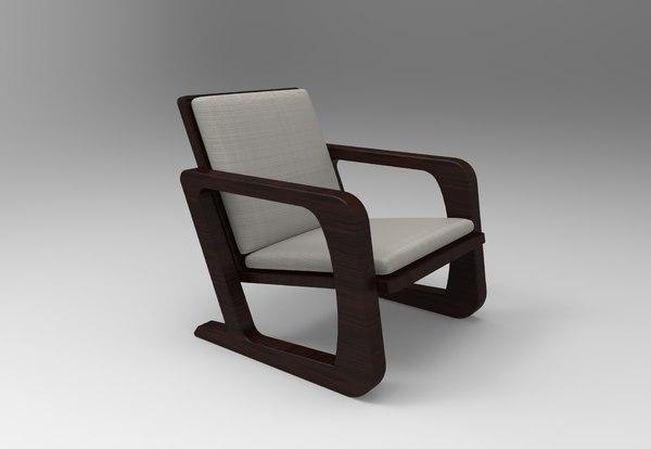 american deco weber chair model