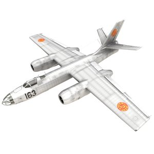 ilyushin il-28 bomber air force 3D model