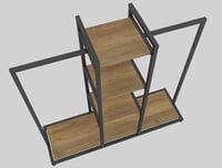 3D shelf store