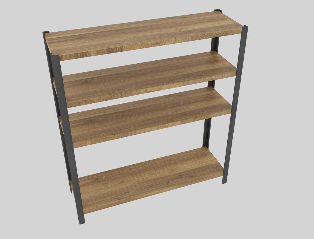 shelf store 3D model