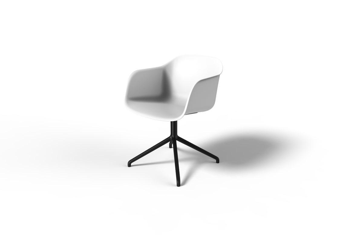 muuto fiber chair 3D
