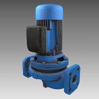 circulating pump 3D model