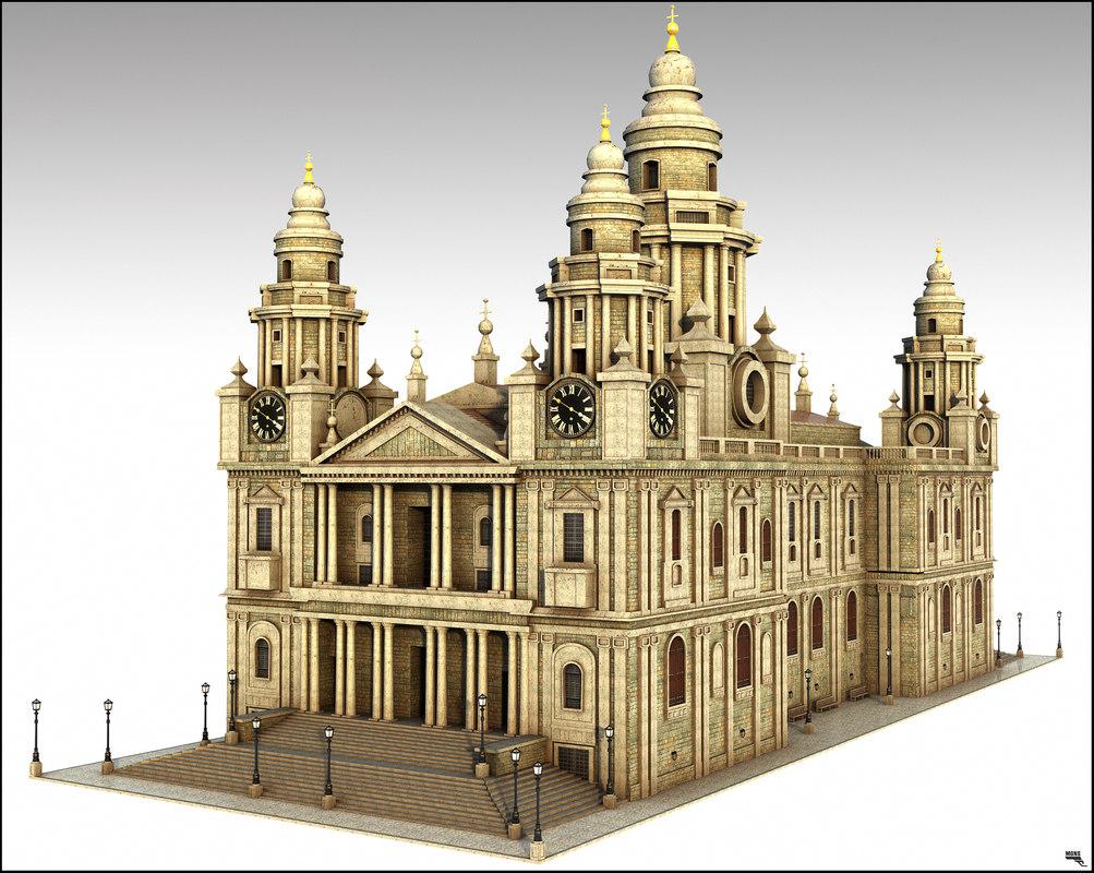fantasy 3D model