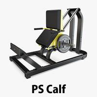 load - plate calf 3D model