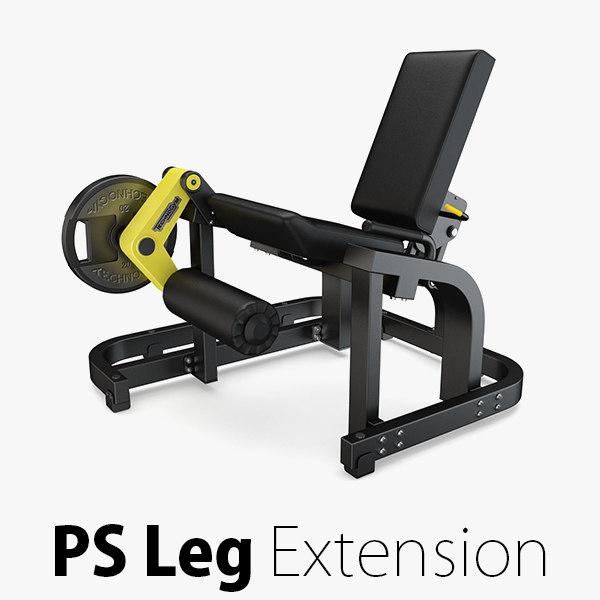 3D load - plate leg model
