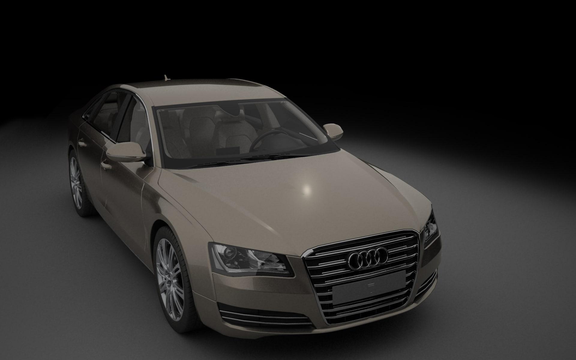 a8 modelled 3D model