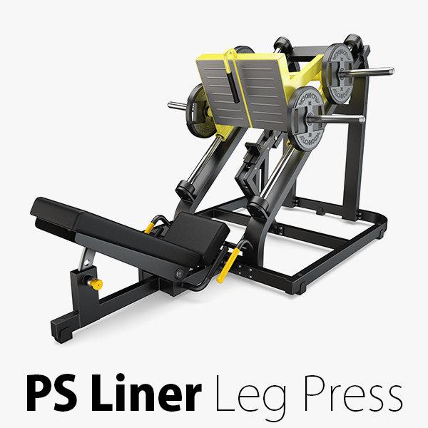 load - plate liner 3D model