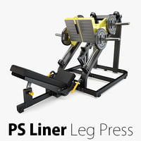 Technogym - Plate Loaded Liner Leg Press