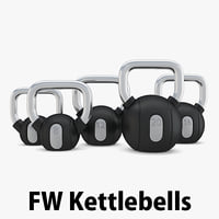 3D load - weight kettlebells