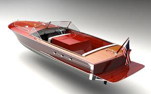3D model boat s