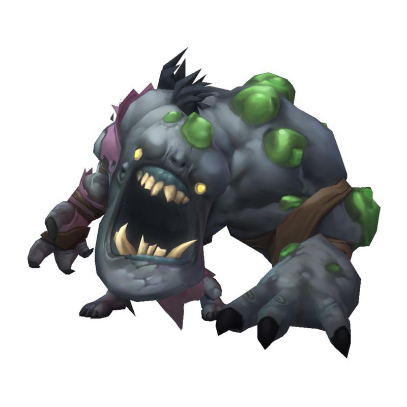 monster ghoul 3D