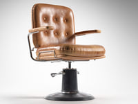 3D vintage barber chair model