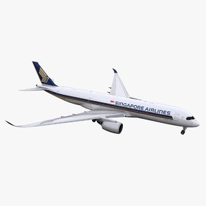 a350-900 singapore airlines 3D
