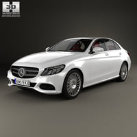 3D model mercedes-benz c-class c