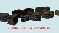 10 stones 3D