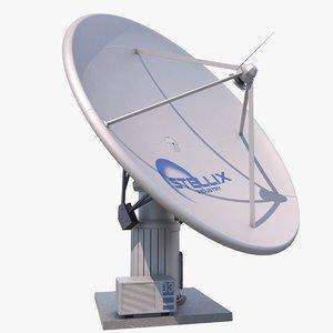 satellite dish model