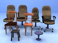 8 chairs pack